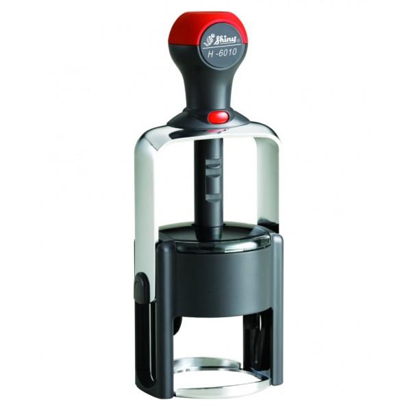 Печать круглая для ИП на оснастке металлической Shiny H6010