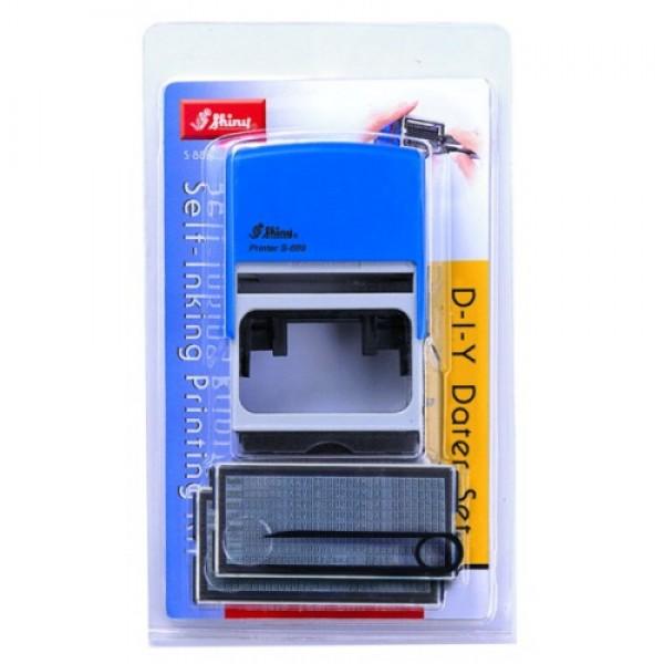 Самонаборный штамп Shiny S-889 8 строк